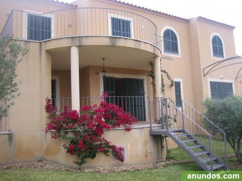 Mallorca playa alquiler casa piscina jard n terrazas - Alquiler casa manacor ...
