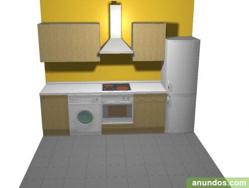 Mueble de cocina en oferta madrid ciudad for Oferta muebles cocina