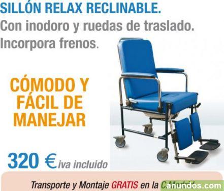 Novedad silla de ruedas de interior con inodoro wc alcal de henares - Silla de ruedas con inodoro ...