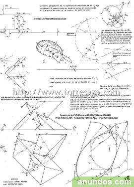 geometria descriptiva y dibujo tecnico: