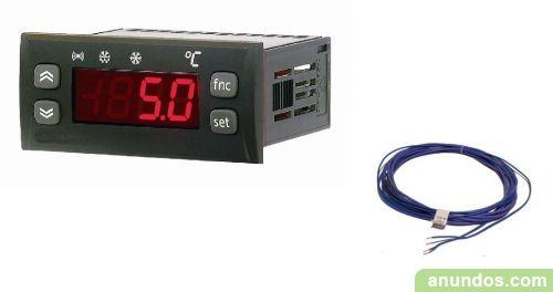 Kit para incubadoras: Termostato + sonda + resistencia de calor