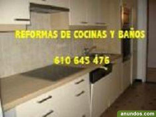 Reforma economicas de cuartos de ba os y cocinas en madrid - Reformas de cocinas madrid ...