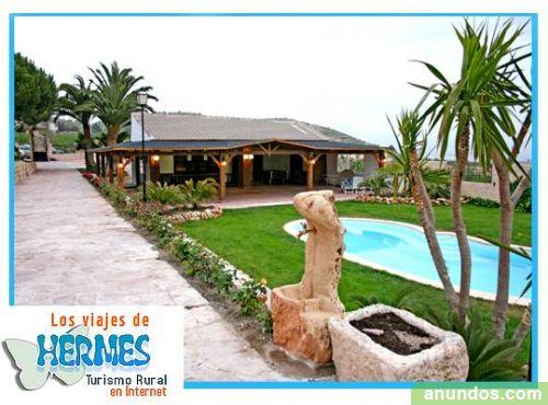 Finca bodas casa rural para bodas con gran jard n for Casas rurales alicante con piscina