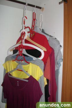 Vendo originales perchas ahorra espacio en tu armario - Perchas ahorra espacio ...