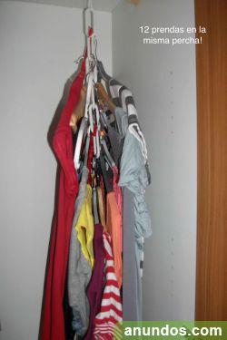 vendo originales perchas ahorra espacio en tu armario