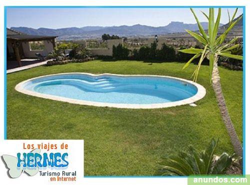 Casa rural con piscina privada y terraza ideal grupos - Casas rurales para dos personas con piscina privada ...