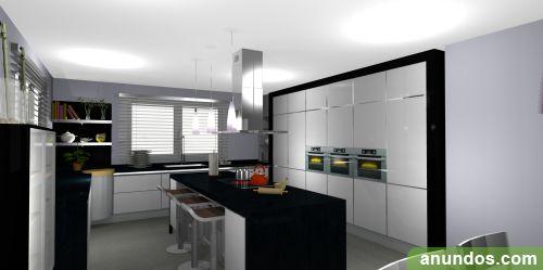 Dise o y fabricaci n de muebles de cocina madrid ciudad for Diseno de muebles para cocina