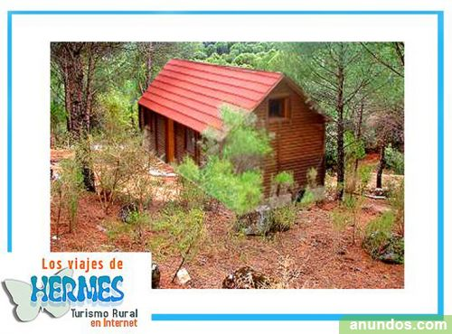 Romanticas casas rurales en la sierra casas de madera a - Casa rural de madera ...