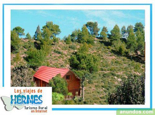 Romanticas casas rurales en la sierra casas de madera a - Casas rurales de madera ...