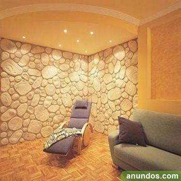 Vista sus paredes en piedra artificial 690 84 43 15 - Pared de piedra artificial ...