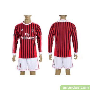 equipacion AC Milan manga larga