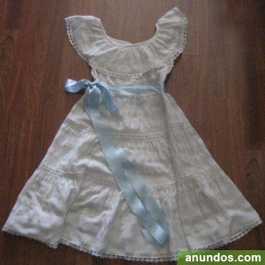 Vestido tipo ibicenco para niña