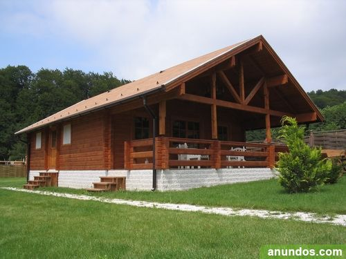 Casas de madera precios directo de fabrica arandilla for Precio de puertas de madera para casas