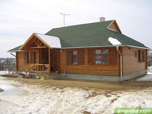 Casas de madera precios directo de fabrica arandilla - Fabrica de casas de madera ...