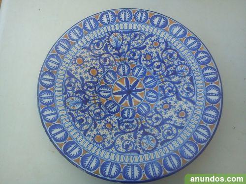 Plato ceramica antiguo