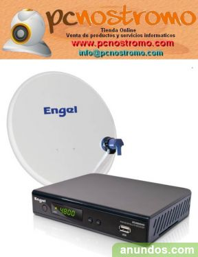 Receptor satelite engel RS 4800 HD + kit de antena - Madrid Ciudad