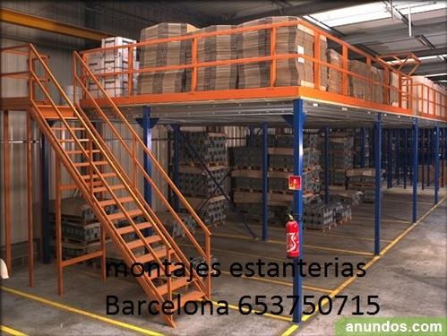 Montajes estanterias metalicas gav - Estanterias metalicas precio ...