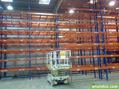 Montaje de estanterias metalicas good montaje estanteria for Montaje de estanterias metalicas
