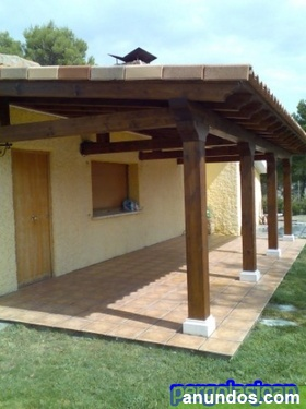 Porches y pergolas de madera rivas vaciamadrid - Pergolas y porches ...