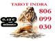 Tarot barato a 0.42€. tarot económico indra : 806 099 030
