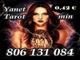 Tarot barato yanet: 806 131 084. tarot fiable a 0.42€/min