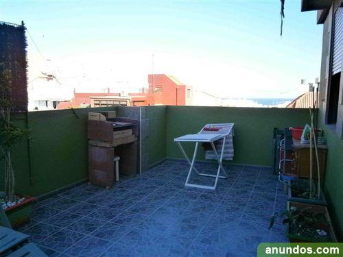 Tico en zona centro amplia terraza azotea lavadero for Lavadero terraza