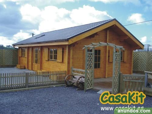 casas de madera en kit bungalow caba a madrid ciudad. Black Bedroom Furniture Sets. Home Design Ideas