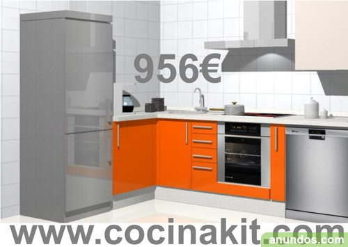 Muebles De Cocina En Kit - Arquitectura Del Hogar - Serart.net
