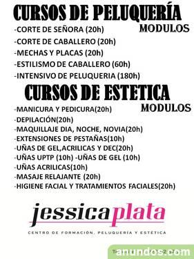 Centro de Formación de Estética y Peluquería EN JESSICA PLATA
