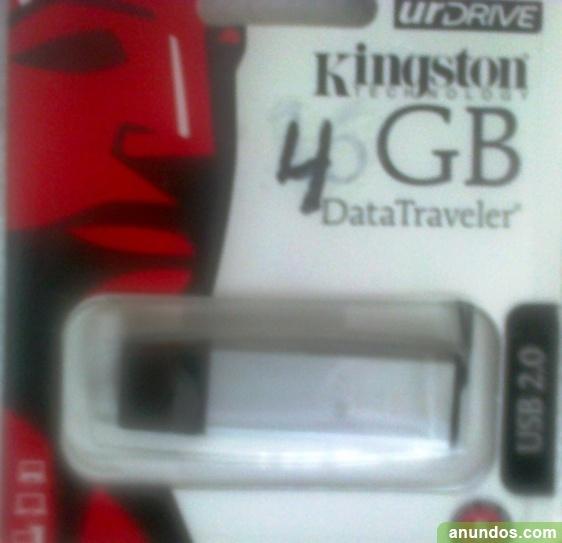 Pen Drive de 4 gigas Kingston nuevo USB