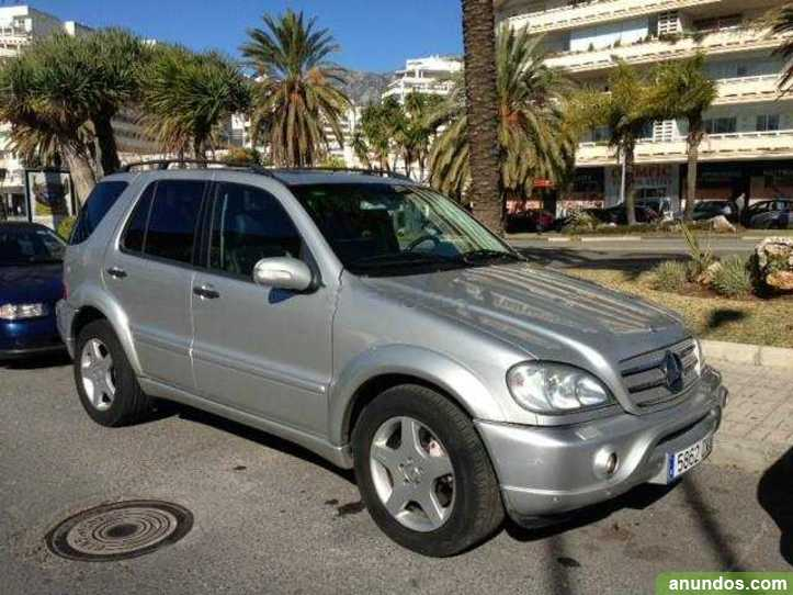 Mercedes benz ml 55 amg acepto cambio marbella for Mercedes benz ml 55
