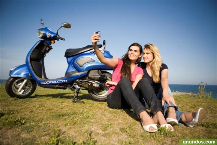 Rent a moped for as little as 29 euros a day