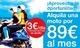 Alquila una scooter en valencia por tan sólo 89€ al mes