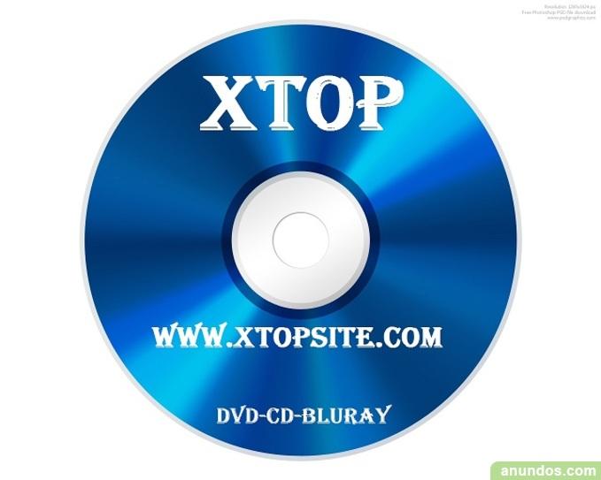 Venta de dvd, bluray y cd en xtopsite