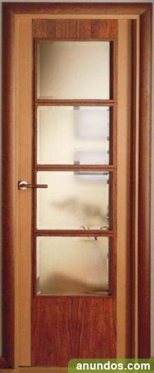 Puerta madera maciza inetrior personalizada alicante ciudad for Precio puerta madera maciza