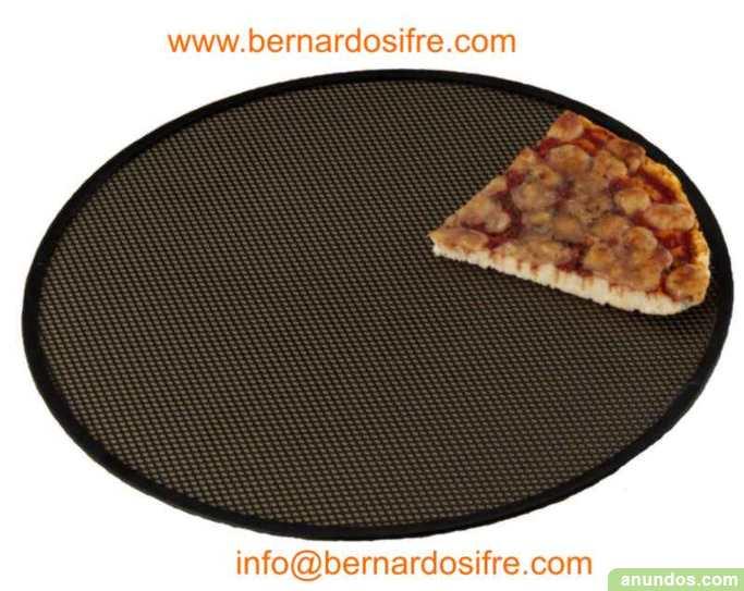 Discos de malla moldes pizza platos de pizza alzira for Platos de pizza