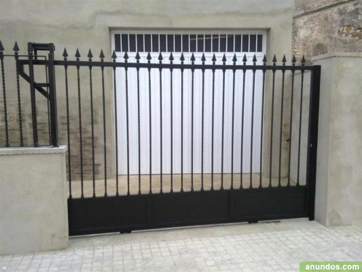 Portillas rejas barandillas parrillas de forja 648 25 22 13 oviedo - Rejas correderas para puertas ...