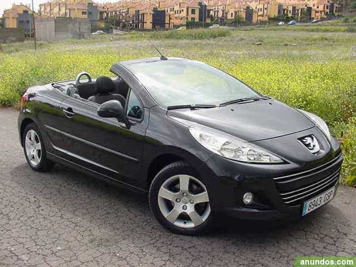 peugeot 207 coupe cabrio 1 6 16v de 120 c santa cruz de tenerife. Black Bedroom Furniture Sets. Home Design Ideas