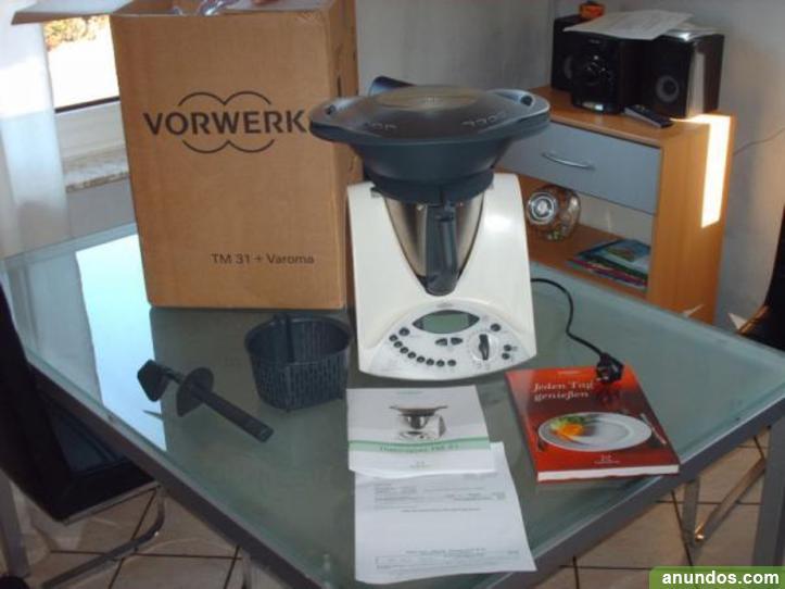Thermomix tm31 robot cocina nuevo con accesorios - Varoma thermomix precio ...