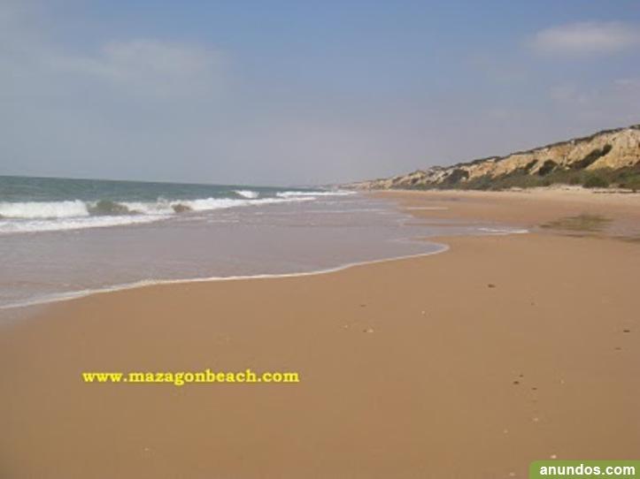 Veranee en playa de mazagon huelva