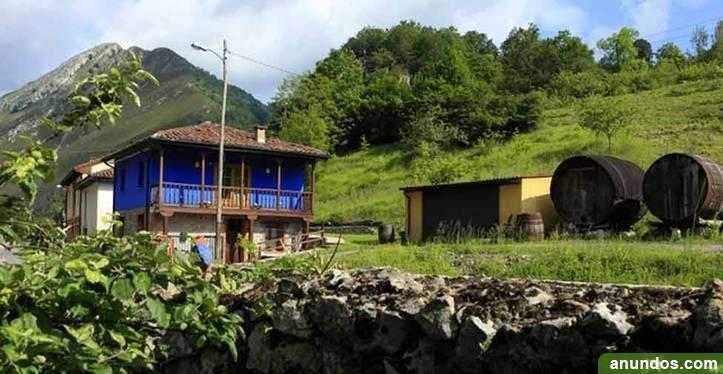Casa rural con jacuzzi en la habitación
