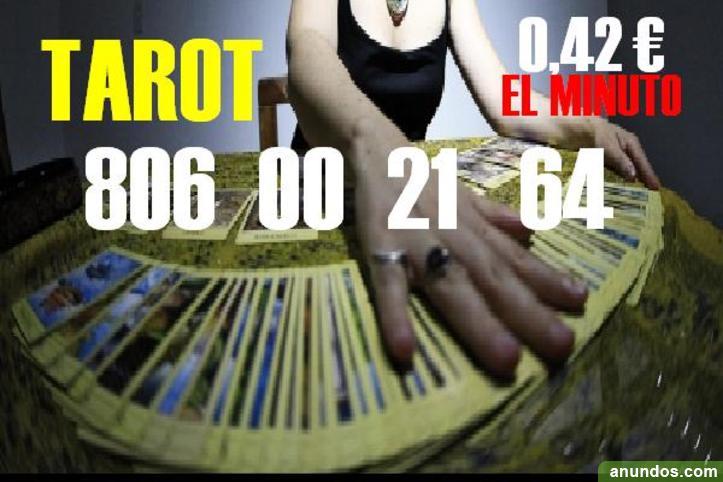 Las cartas muestran el camino.Tarot 0,42 €