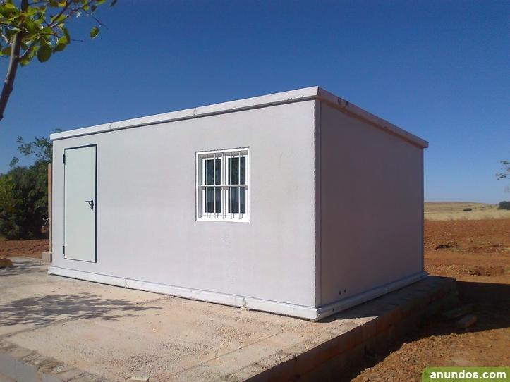 Casetas prefabricadas de hormigon alcoy for Casas y casetas prefabricadas