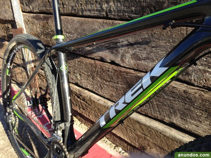 Trek Superfly 9.8 2014 19.5 Carbono 29 er Negro y Green Mountain ...