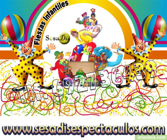 Fiestas infantiles de comunion