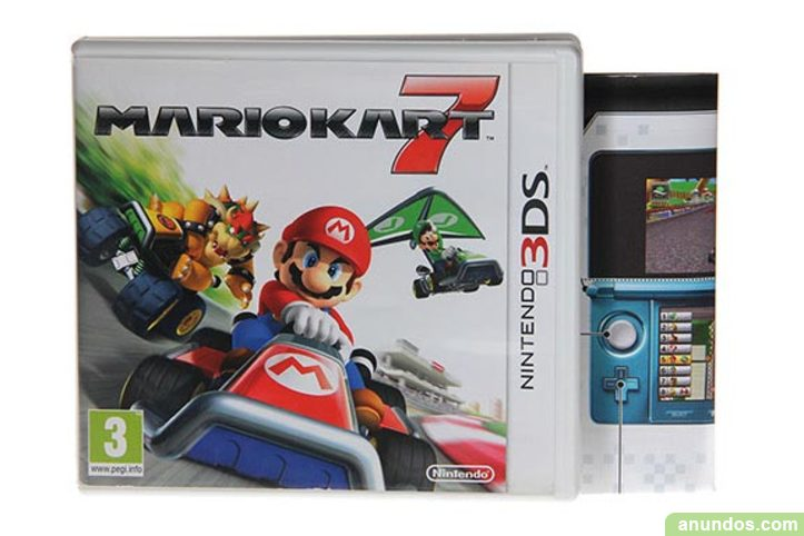 Mario Kart 7 3ds Juego Nintendo 3ds Madrid Ciudad