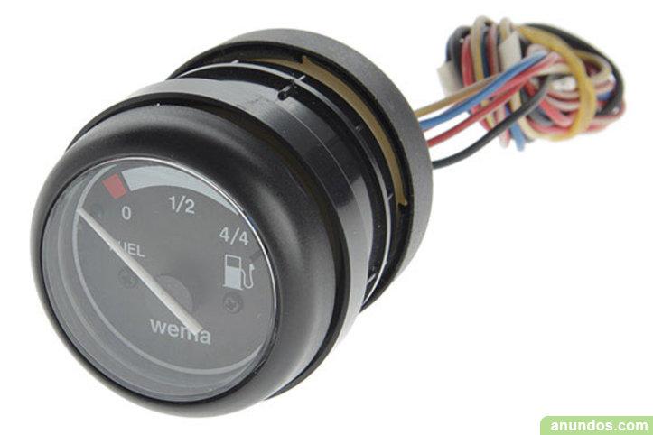 Reloj nivel carburante 12v wema