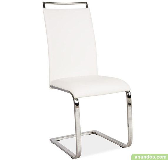 Orinoco silla de comedor negro o blanco madrid ciudad for Sillas comedor madrid