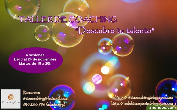 Taller de Coaching Descubre tu Talento