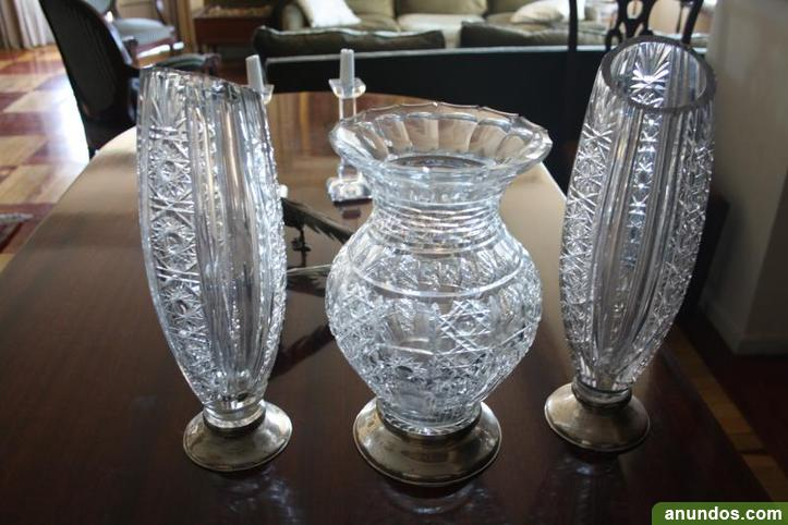 Preciosos jarrones de cristal madrid ciudad - Jarrones de cristal ...